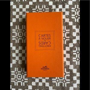 Hermès Knotting Cards No. 5